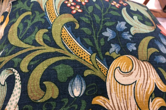 william morris fabric from cornwall